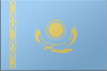 Khazakhstan flag