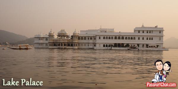 Udaipur India Lake Pichola Jag Mandir Palace City Palce Taj Niwas Sunset Cruise