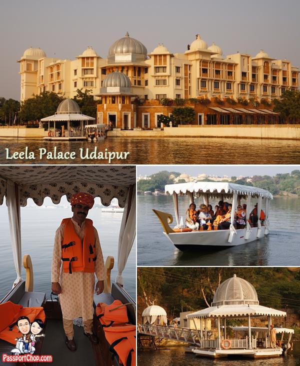 Leela Palace Udaipur India Lake Pichola Jag Mandir Palace City Palce Taj Niwas Sunset Cruise