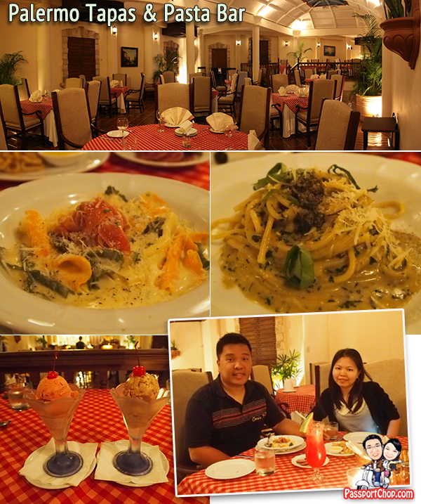 Cebu Plantation Bay Resort & Spa Restaurants Food Palermo Tapas Pasta Bar Italian Live Band Singing