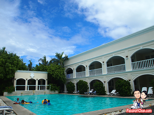 Poolside Plantation Bay Resort Lagoon Side Water's Edge House Philippines Cebu Piazza Palermo Windward Cluster Quantum Villa