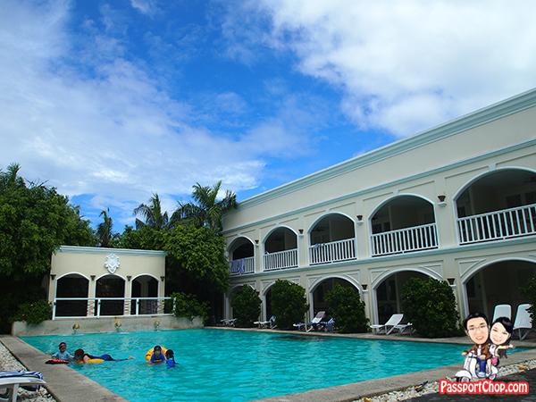 Poolside Plantation Bay Resort Lagoon Side Water's Edge House Philippines Cebu Piazza Palermo Windward Cluster Quantum Villa