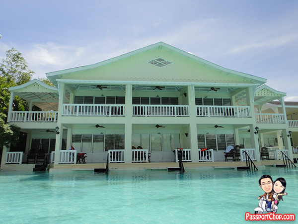 Plantation Bay Resort Lagoon Side Water's Edge House Philippines Cebu Dune House Chenonceaux House