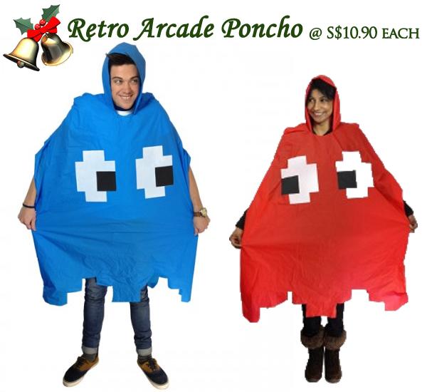 Retro Arcade Poncho Jipaban