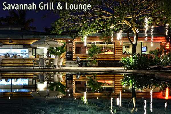 Cebu Plantation Bay Resort & Spa Restaurants Food Savannah Grill & Lounge Hamburger