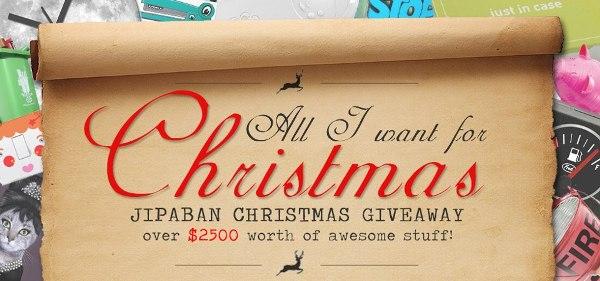 Jipaban Christmas Giveaway