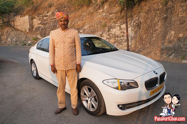 Airport Transfer Leela Palace Udaipur BMW chauffeur luxury
