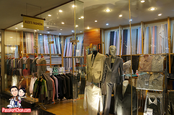 Bangkok Thailand Alex Fashion Tailor Suit shirt Custom Made amari Watergate hotel level 2