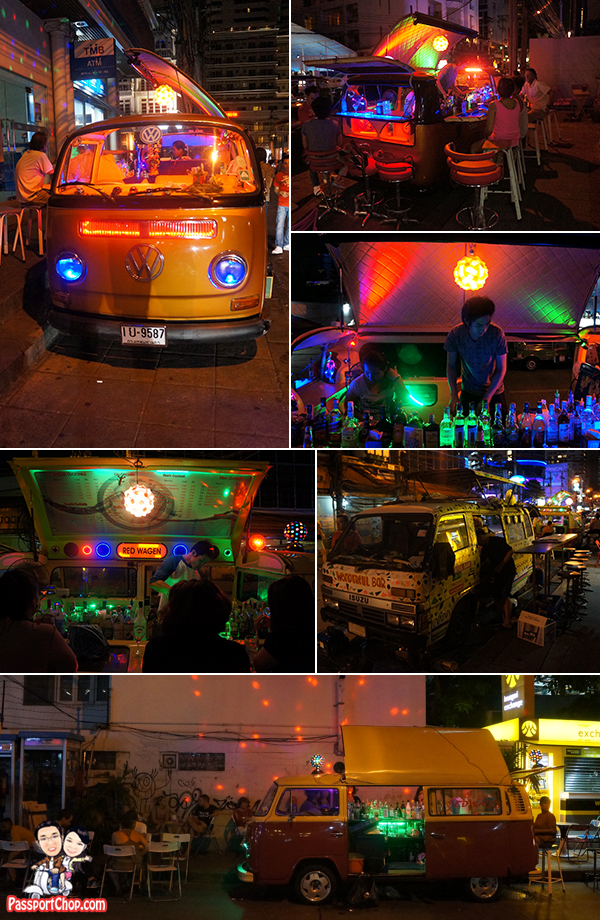 Mulligan's Irish Pub and Restaurant Nightlife Volkswagen Mobile Bar Thailand Bangkok trip Getaway from Singapore Apartment Citadines Sukhumvit