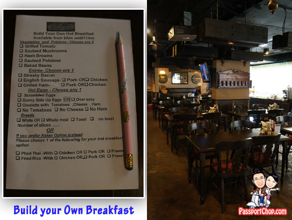 Mulligan's Irish Pub and Restaurant Breakfast Make your Own Western and Asian Thailand Bangkok trip Getaway from Singapore Apartment Citadines Sukhumvit