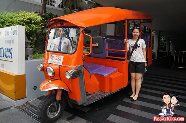 Thailand Bangkok trip Getaway from Singapore Apartment Citadines Sukhumvit Complimentary Shuttle to Terminal 21 Asoke BTS and Sukhumvit MRT tuk-tuk free service transfer