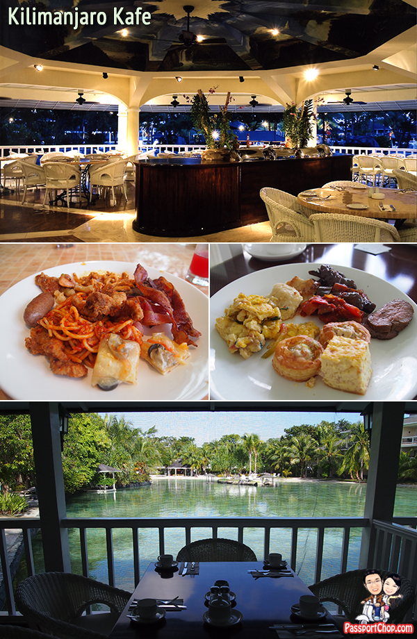 Cebu Plantation Bay Resort & Spa Restaurants Food Kilimanjaro Kafe Brazilian Themed siesta American Dance Performance