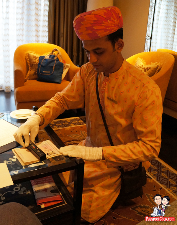 Leela Palace Udaipur in-room check-in friendly butlers attentive