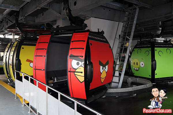 Angry Birds Singapore Sky Dining Cable Car Mount Faber Sentosa