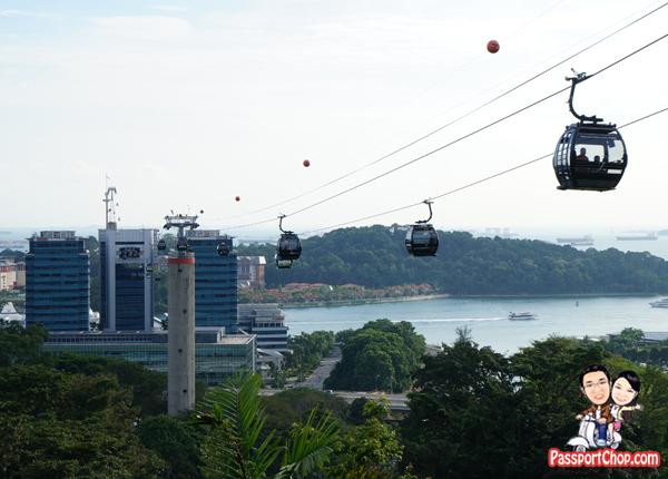 Singapore Sky Dining Cable Car Mount Faber Sentosa