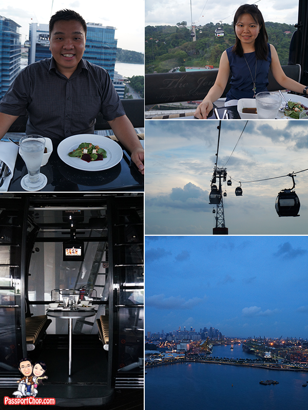 Singapore Sky Dining Cable Car Mount Faber Sentosa