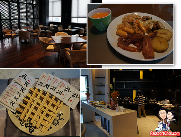Bangkok Thailand Hotel Somerset Sukhumvit Thonglor Serviced Residence Japanese themed Breakfast Buffet