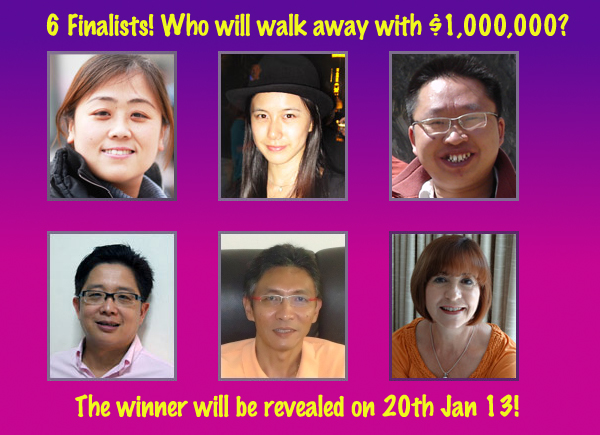 Changi Millionaire Draw 6 Finalist Win $5000 $1 Million Dollars