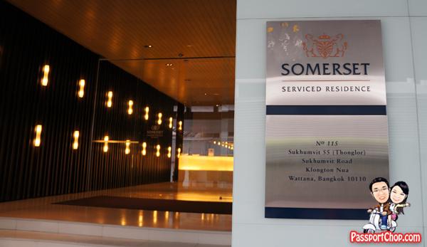 Bangkok Vacation Hotel Somerset Sukhumvit Thonglor Serviced Residence
