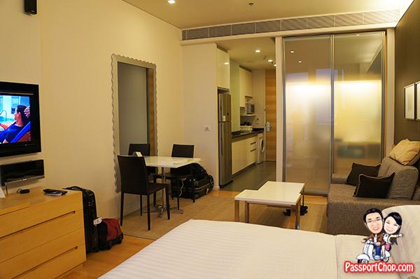 Bangkok Hotel Room Suite Somerset Sukhumvit Thonglor Serviced Residence Studio apartment
