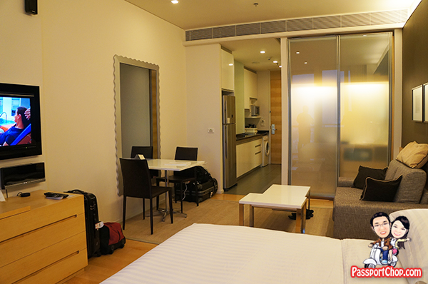 Bangkok Hotel Room Suite Somerset Sukhumvit Thonglor Serviced Residence Studio apartment