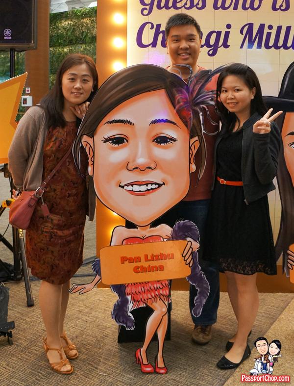 Changi Millionaire Finalist Pan LIZHU China Shanghai