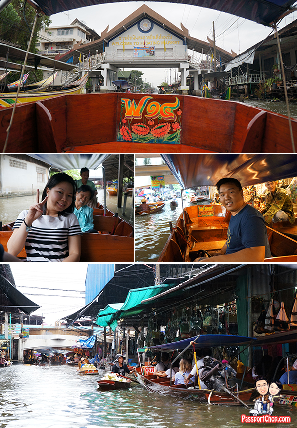 Damnoen Saduak Floating Market Bangkok Tour Shopping Eating Private Longtail Boat Busy Market Singapore Travel Blog PassportChop