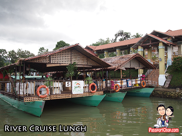 Loboc River Cruise Lunch Buffet Performance Boat Bohol Philippines