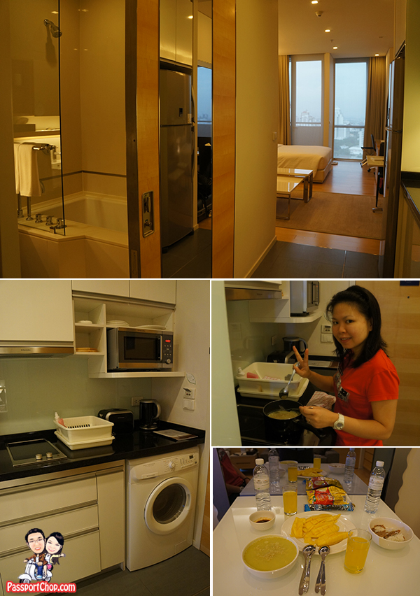 Somerset Sukhumvit Thonglor Serviced Residence Room Kitchenette Pantry Well Equipped