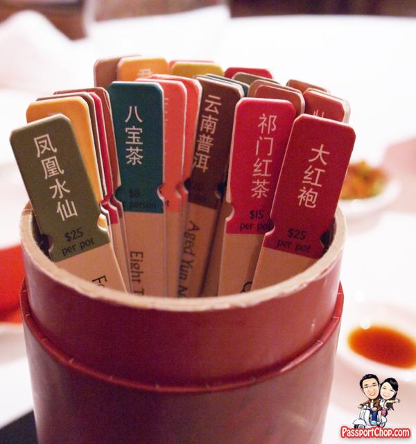 Shangri-La Hotel Shang Palace Restaurant Tea Divine Draw Lots