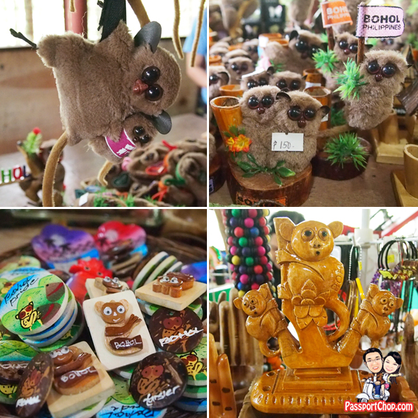 Tasier souvenirs Bohol Philippines Magnets Key Chains