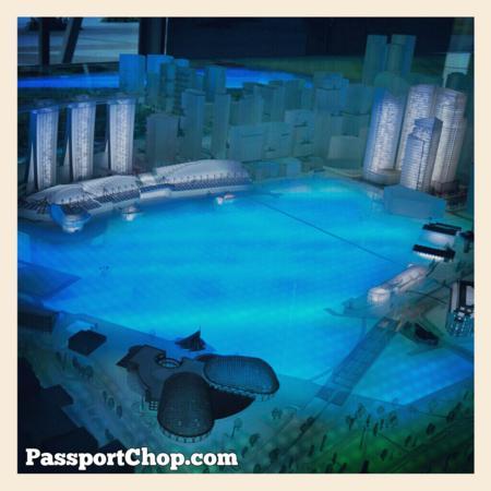 Marina Bay City Gallery URA The Ritz Carlton Marina Bay Discovery Trail