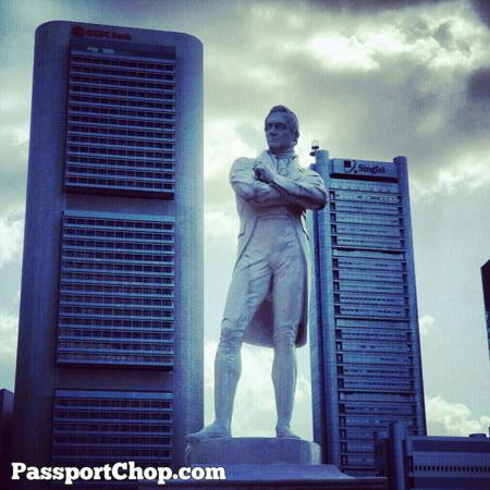 Sir Stamford Raffles Landing Site The Ritz Carlton Marina Bay Discovery Trail