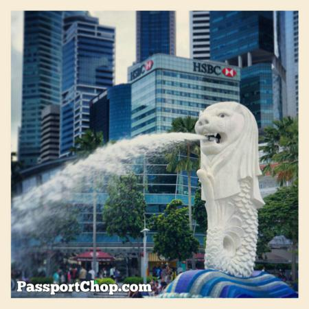 Merlion Park The Ritz Carlton Marina Bay Discovery Trail