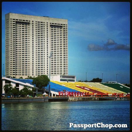 Float@Marina Floating Platform National Day Parade The Ritz Carlton Marina Bay Discovery Trail