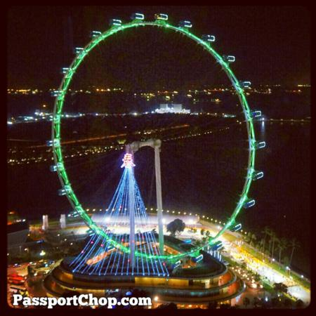 Singapore Flyer The Ritz Carlton Marina Bay Discovery Trail