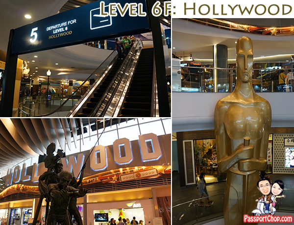 Terminal 21 Hollywood Level Bangkok Shopping Mall Sukhumvit