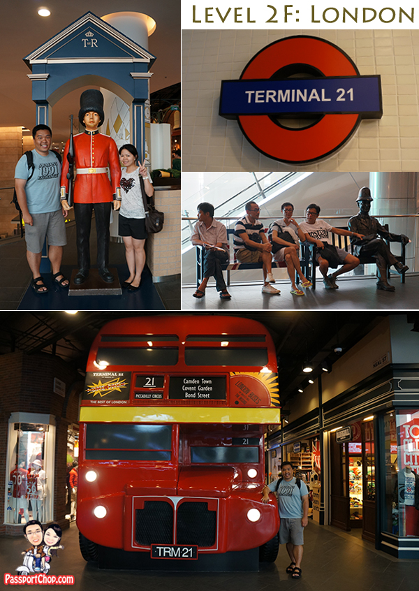 Terminal 21 London Bangkok Shopping Mall Sukhumvit
