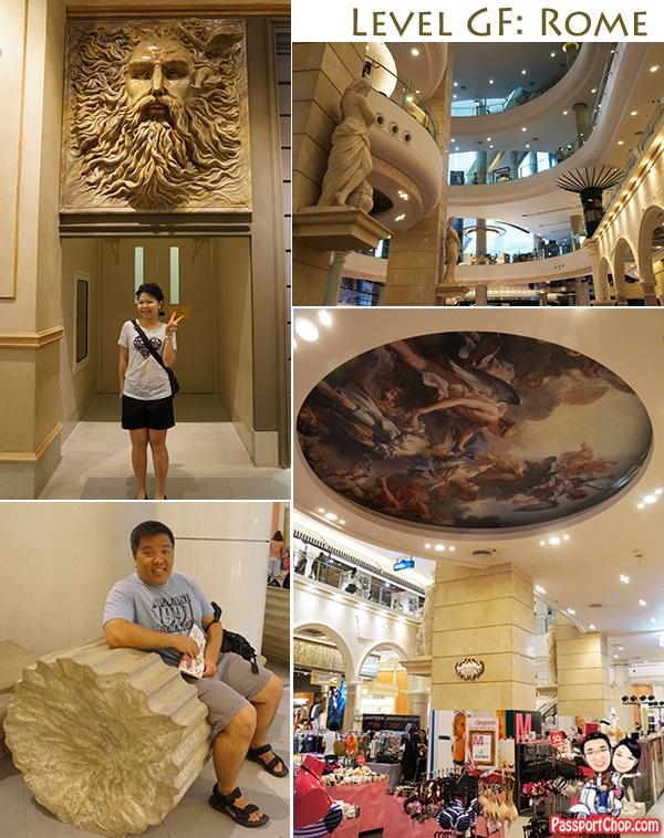 Terminal 21 Rome Bangkok Shopping Mall Sukhumvit
