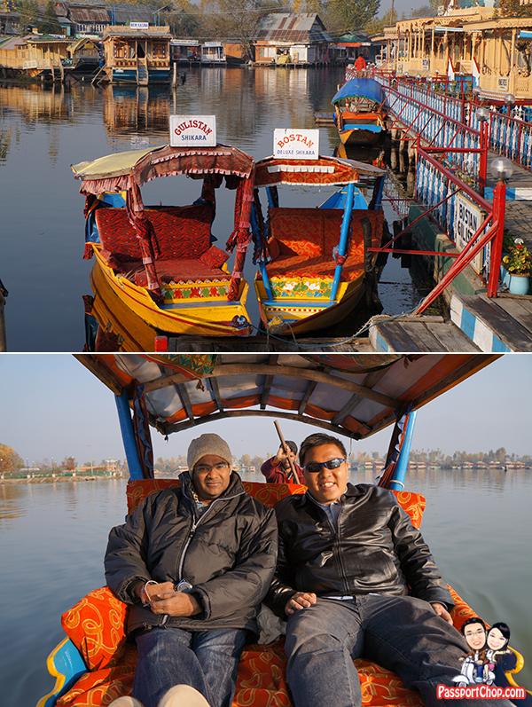 Bostan Gulistan Houseboat Srinagar Kashmir India Home cooked Ashraf Guru Butler Abdul Shikara Ride Dal lake