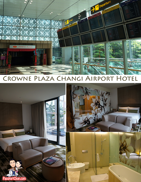 Crowne Plaza Changi Airport Terminal 3 Singapore Staycation Departure Convenience Traveller Business Leisure