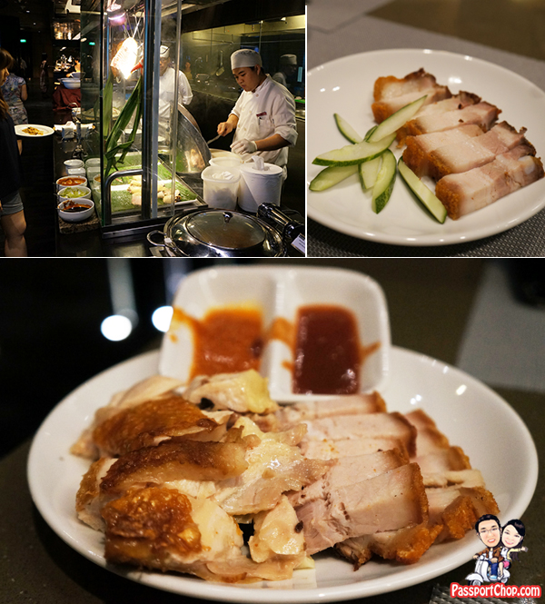 Crowne Plaza Changi Airport Terminal 3 Staycation Singapore AZUR Restaurant Buffet Changi Weekend Brunch Roast Meat