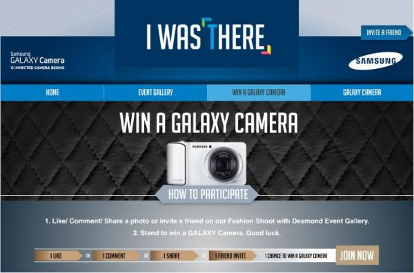 Samsung Camera I Was There Campaign