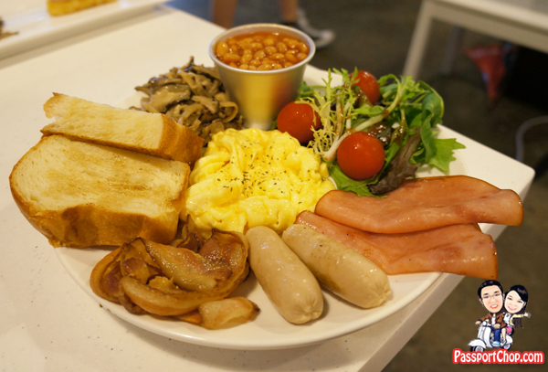 Nook House of Pancake Bukit Timah DIY Pancake Fun Singapore Ala Carte Order Breakfast Bully