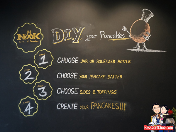 Nook House of Pancake Bukit Timah DIY Pancake Fun Singapore Instructions