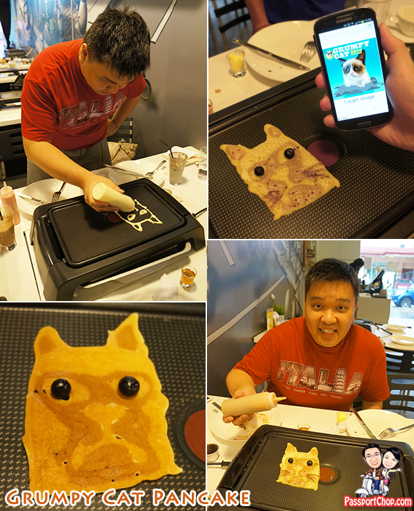 Nook House of Pancake DIY Pancake Grumpy Cat Pancake Drawings