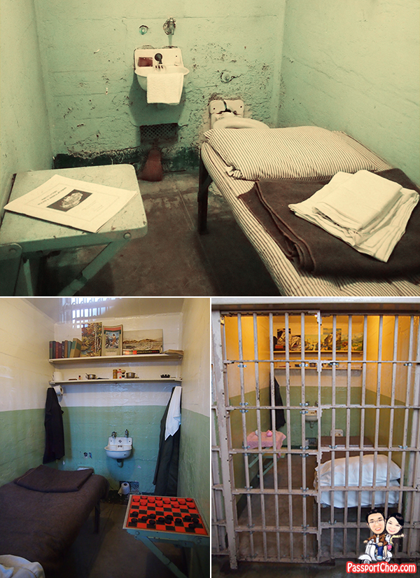 Customised Cell Prison Life Daily Cellhouse Tour Alcatraz San Francisco California Prison United States of America
