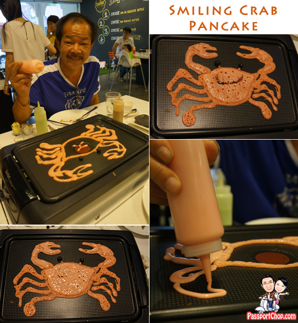 Nook House of Pancake DIY Pancake Smiling Crab Drawings