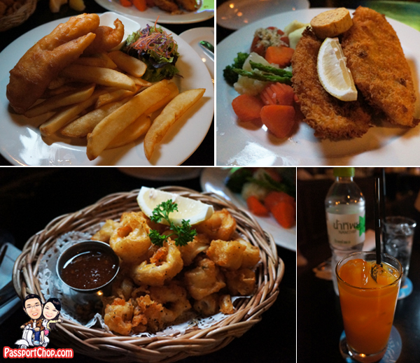 Mulligans Irish Pub and Restaurant Citadines Sukhumvit Bangkok Thailand Dinner Food