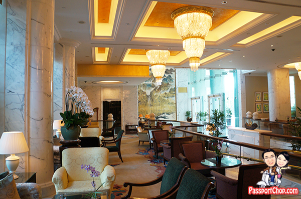 Lobby Complimentary High Tea Set Shangri-La Hotel Singapore Valley Wing Staycation Deluxe Room Easter Holiday Break
